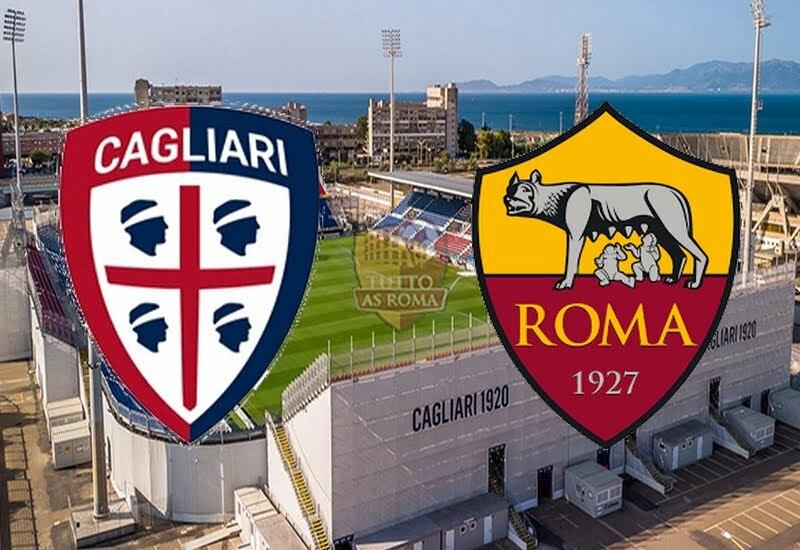 CAGLIARI-ROMA 3-4 (TABELLINO)